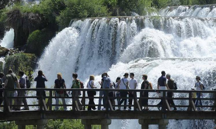 Slapovi Krke, Nacionalni park Krka
